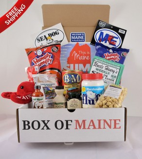 10-Item Box Of Maine [$65] by way of   Box of Maine