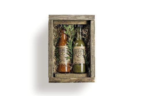Resurgam Hot Sauce Giftbox [$24] by way of   Resurgam Fermentation
