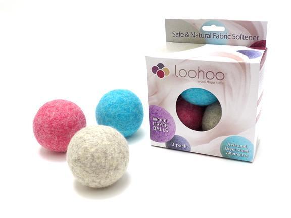 Wool Dryer Balls Starter Pack [$29] by way of   Loo-Hoo