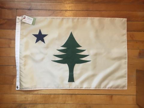 Original Maine Flag [from $55] by way of   Original Maine