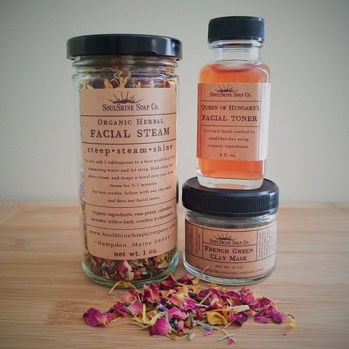 Facial Care Trio Set [$35] by way of   SoulShine Soap Co.