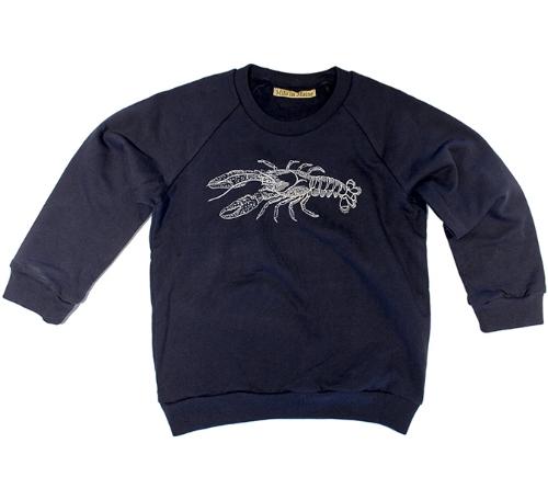 Kids Lobster Sweatshirt [$28] by way of   Milo in Maine