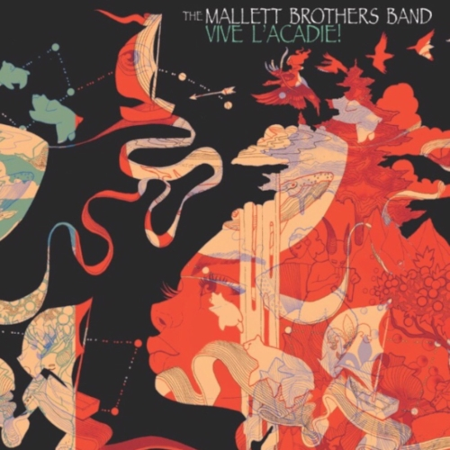 Vive L'Acadie! Album [$12] by way of   The Mallett Brothers Band