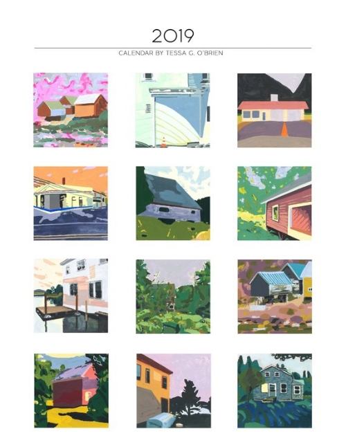 2019 Wall Calendar [$30] by way of   Last Light Studio