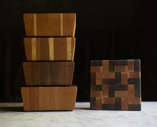 Handmade Chop Blocks and Cutting Boards [Varies] by way of   S.E. Hall Furniture & Design
