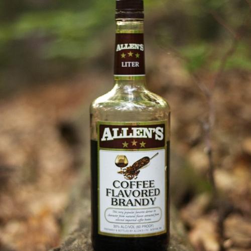 Allen's Coffee Brandy [around 12 bucks] by way of   Allen's