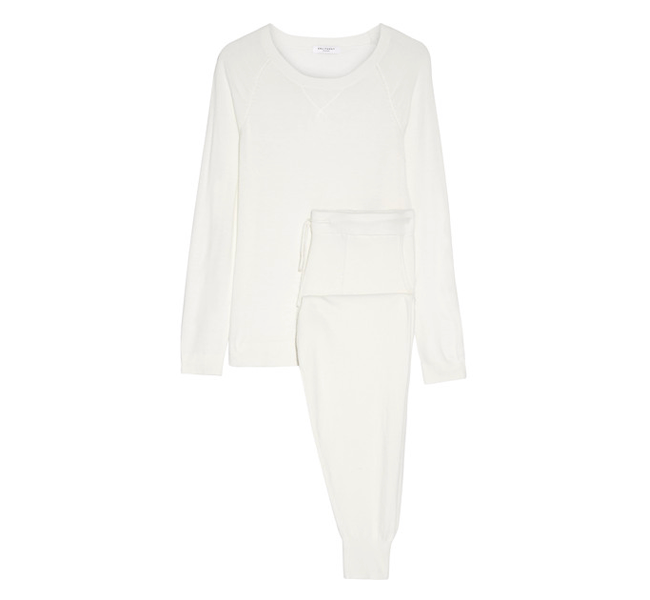Travel knit set by  Equipment , available at Net-a-porter