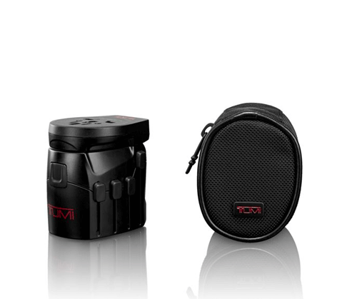 Electric Grounded Adapter With USB by  Tumi