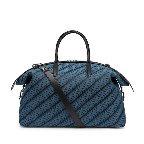Monogram Zip Guard Travel Bag by  Smythson