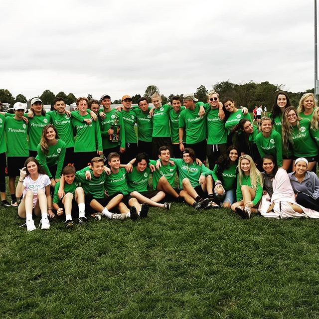 PHS Varsity Ultimate Frisbee Team won their Tournament Today. Thank you to the players and families for supporting Josh's Squad House Today.