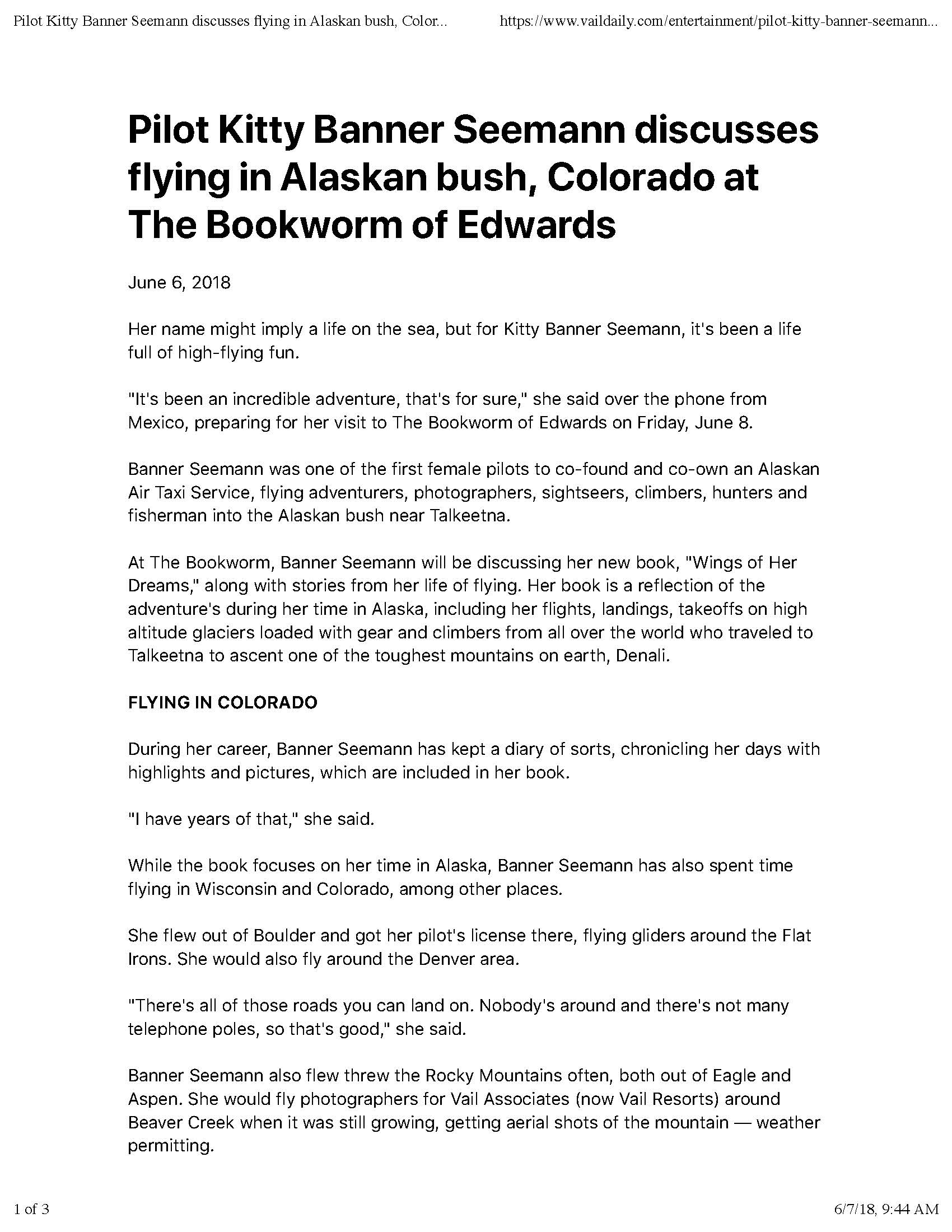 Pilot Kitty Banner Seemann discusses flying in Alaskan bush, Colorado at The Bookworm of Edwards | VailDaily.com_Page_1.jpg