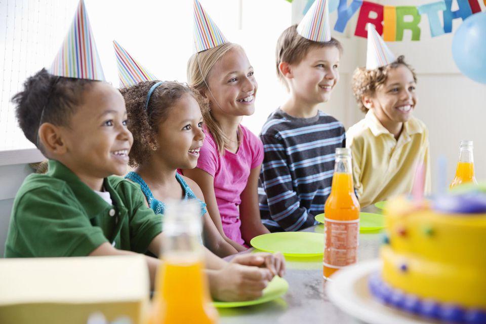 Birthday Etiquette for Children -
