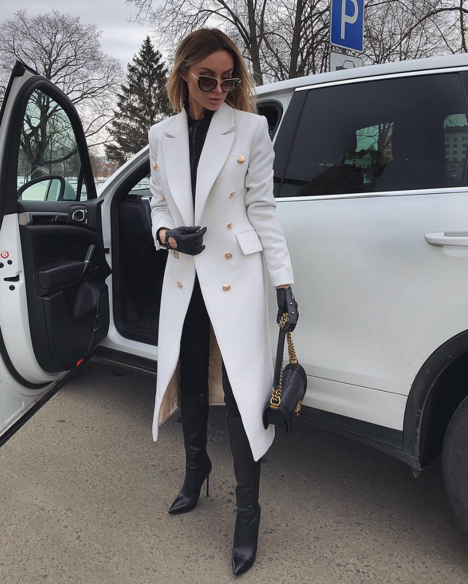 Expensive Cream Coat