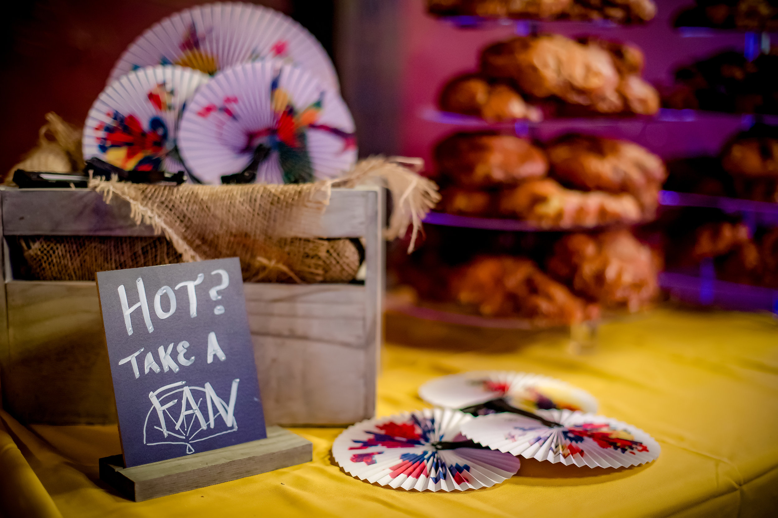 Food and Fans - CenterStage Events