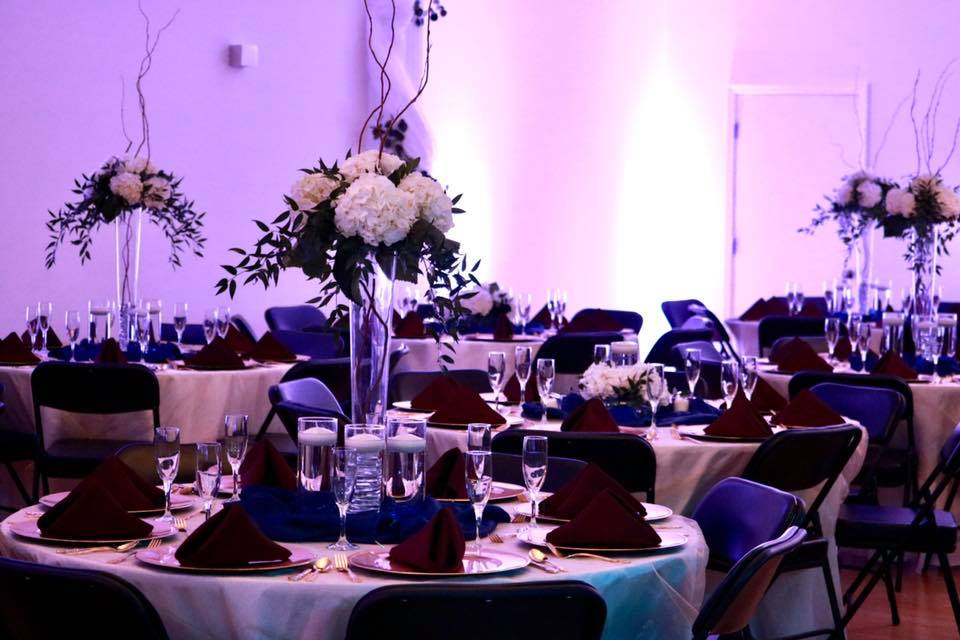 Tablescape and Florals - CenterStage Events