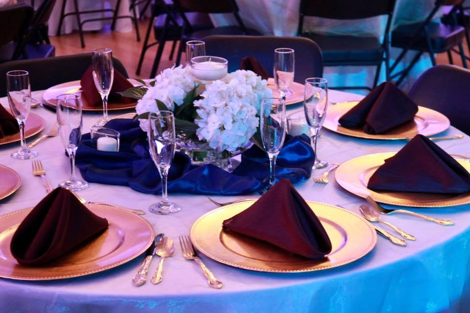 Table Setting - CenterStage Events