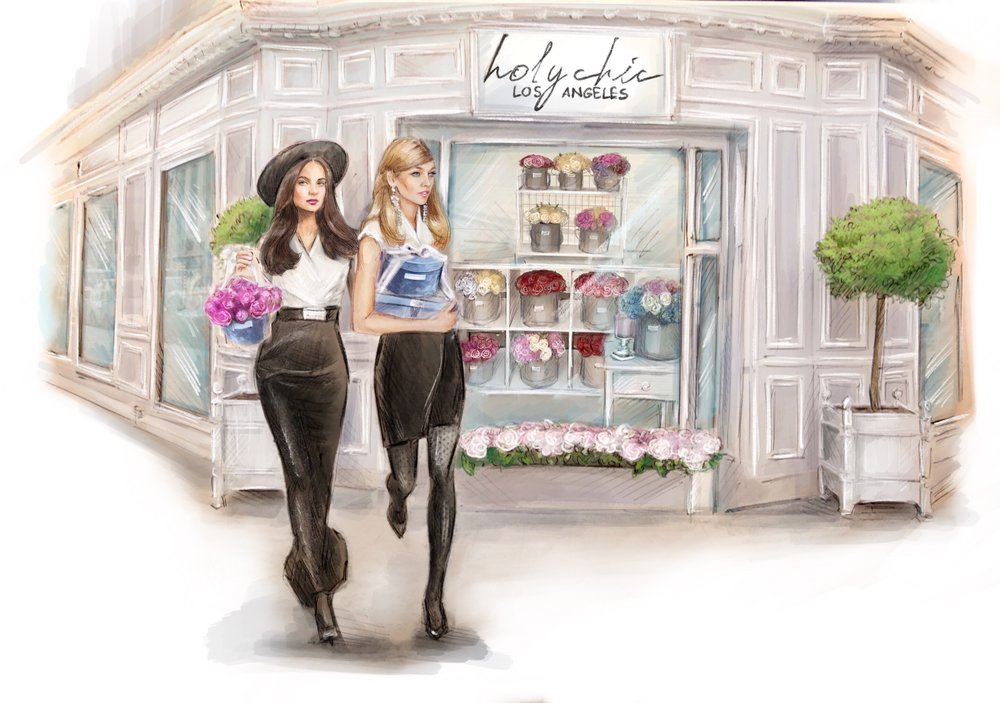 HOLY CHIC & SAINT ALABASTER -  Holy Chic Los Angeles & Saint Alabaster are currently developing an haute couture candle experience like no other. Visit Holy Chic in the newly remodeled Westfield Century City, also coming soon to The Grove! Their luscious bouquets and naturally-preserved glass box roses are sure to get you out of any dog house.HOLY CHIC FLORAL COUTURIERWESTFIELD CENTURY CITY, MAIN ATRIUMhttps://www.holychiclosangeles.comHAUTE COUTURE FLORAL CANDLES