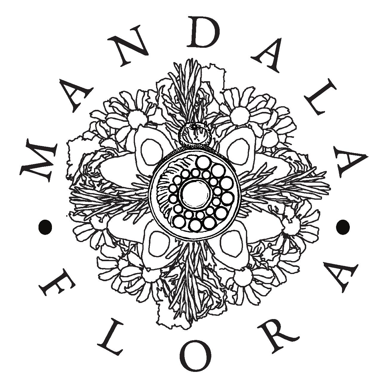 Mandala Flora Logo