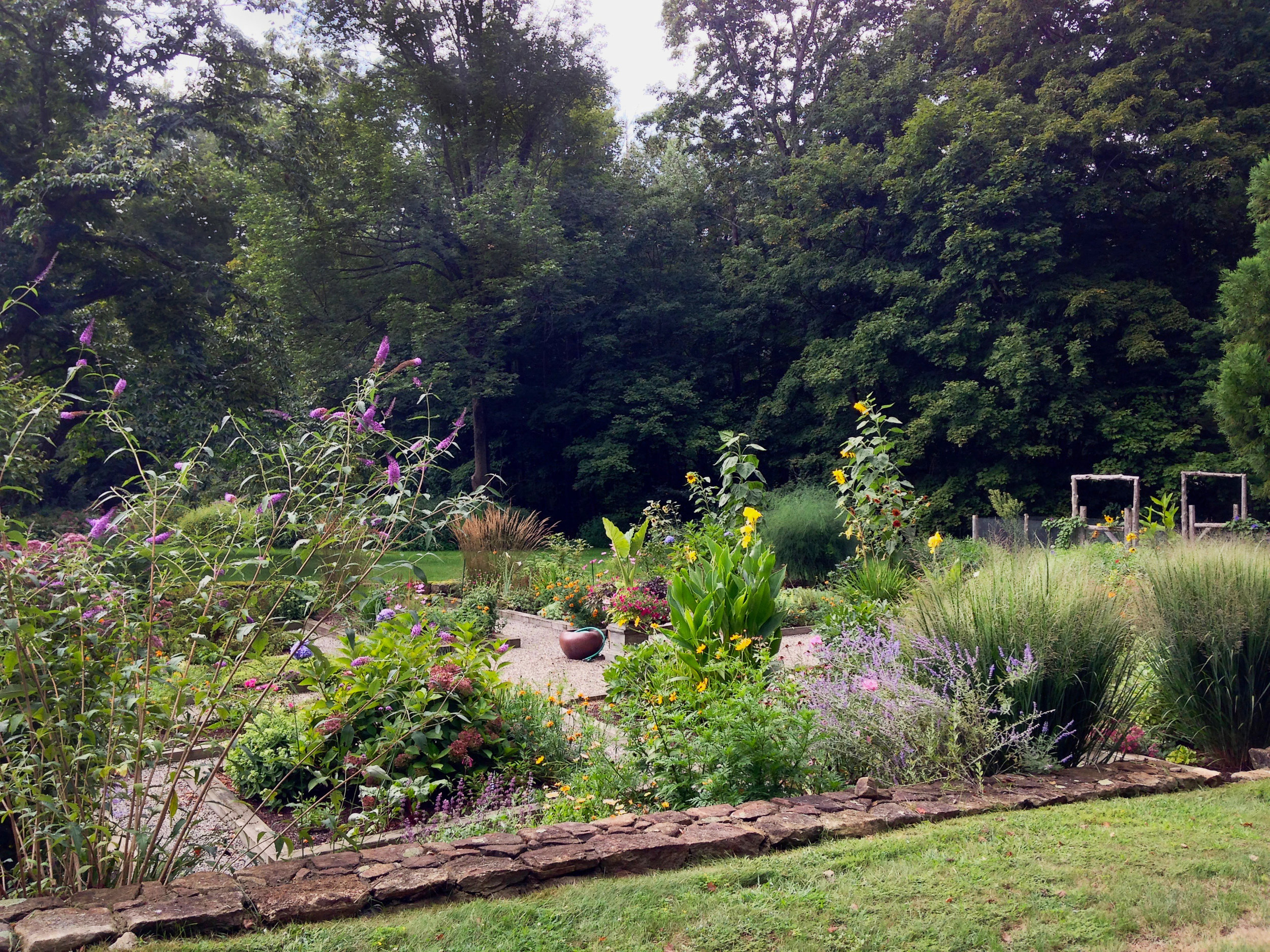 Natural landscape design Westchester County.