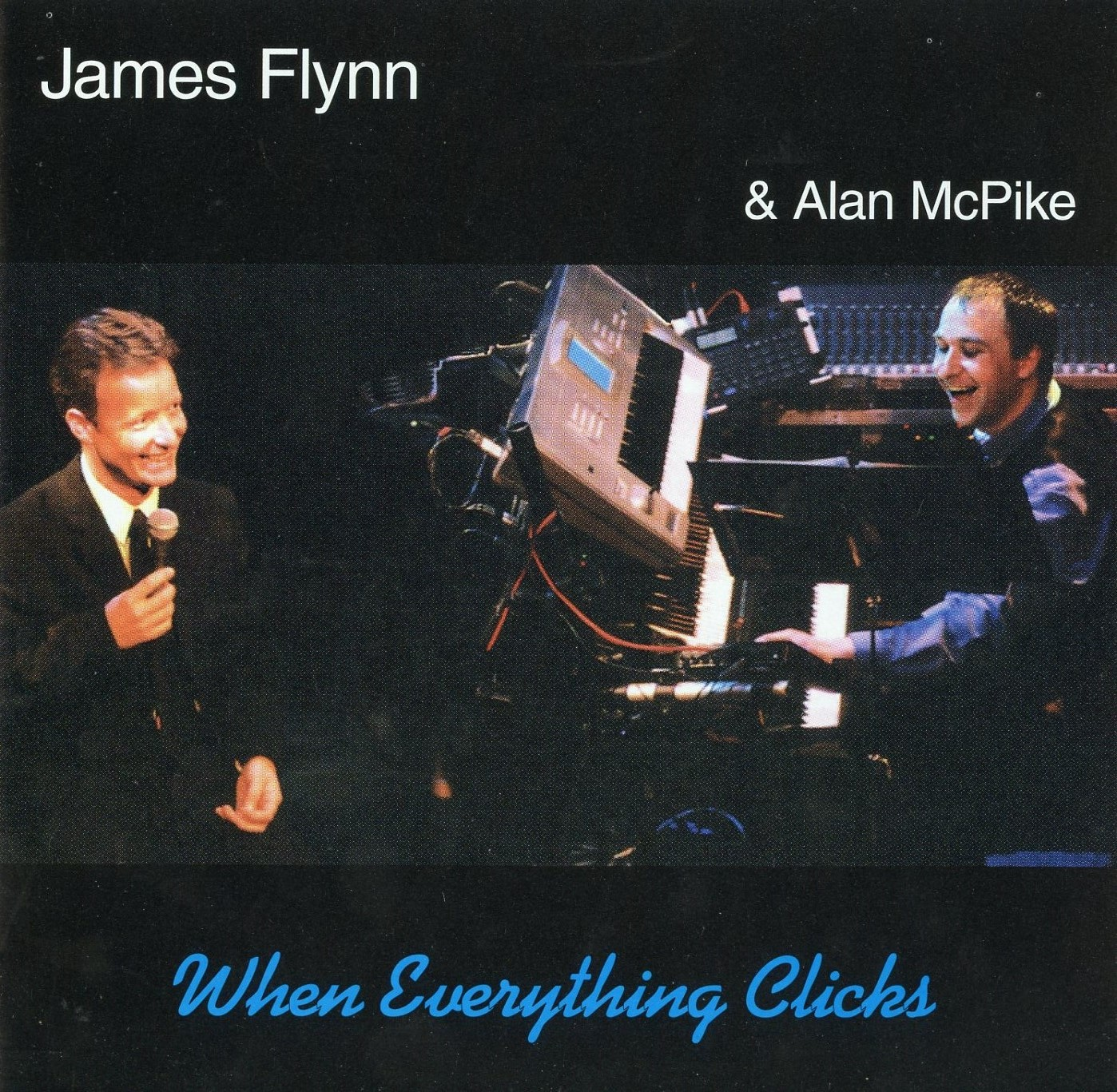 When everything clicks - Scottish pianist and musician Alan McPike and I have been friends and musical collaborators for over 20 year. This live recording is one of the reasons why. We just connect musically and can improvise and have fun but stay on the same page. He has always been a joy to perform with and the evening of this performance was no exception.