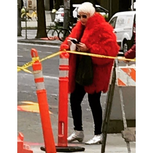 WlW Curated Vintage  Coat / New York❤️