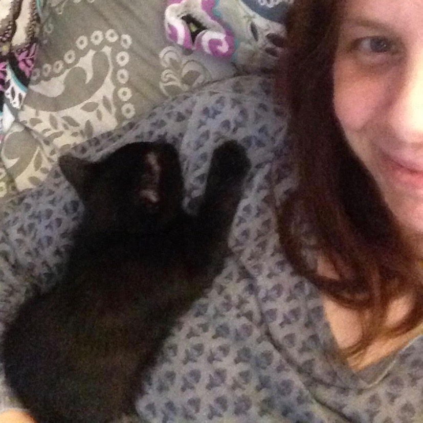 Emily - Queen smitten kitten whisperer - Director of Fundraising & Treasurer of the Board of Directors