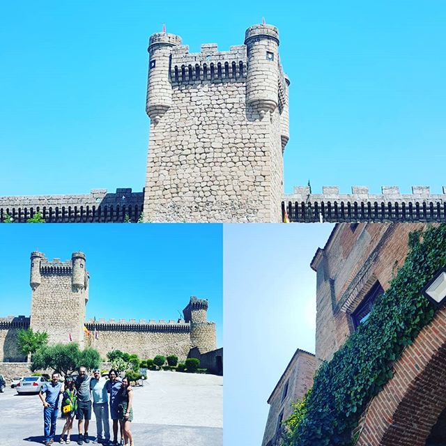 Visiting and having lunch in a real castle!  #thelatindukes #thelatindukesspaintour #paradororopesa