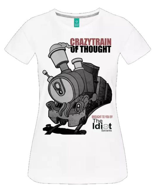 Crazy Train of Thought Network Women's T-Shirt