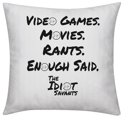 The Idiot Savants Throw Pillow