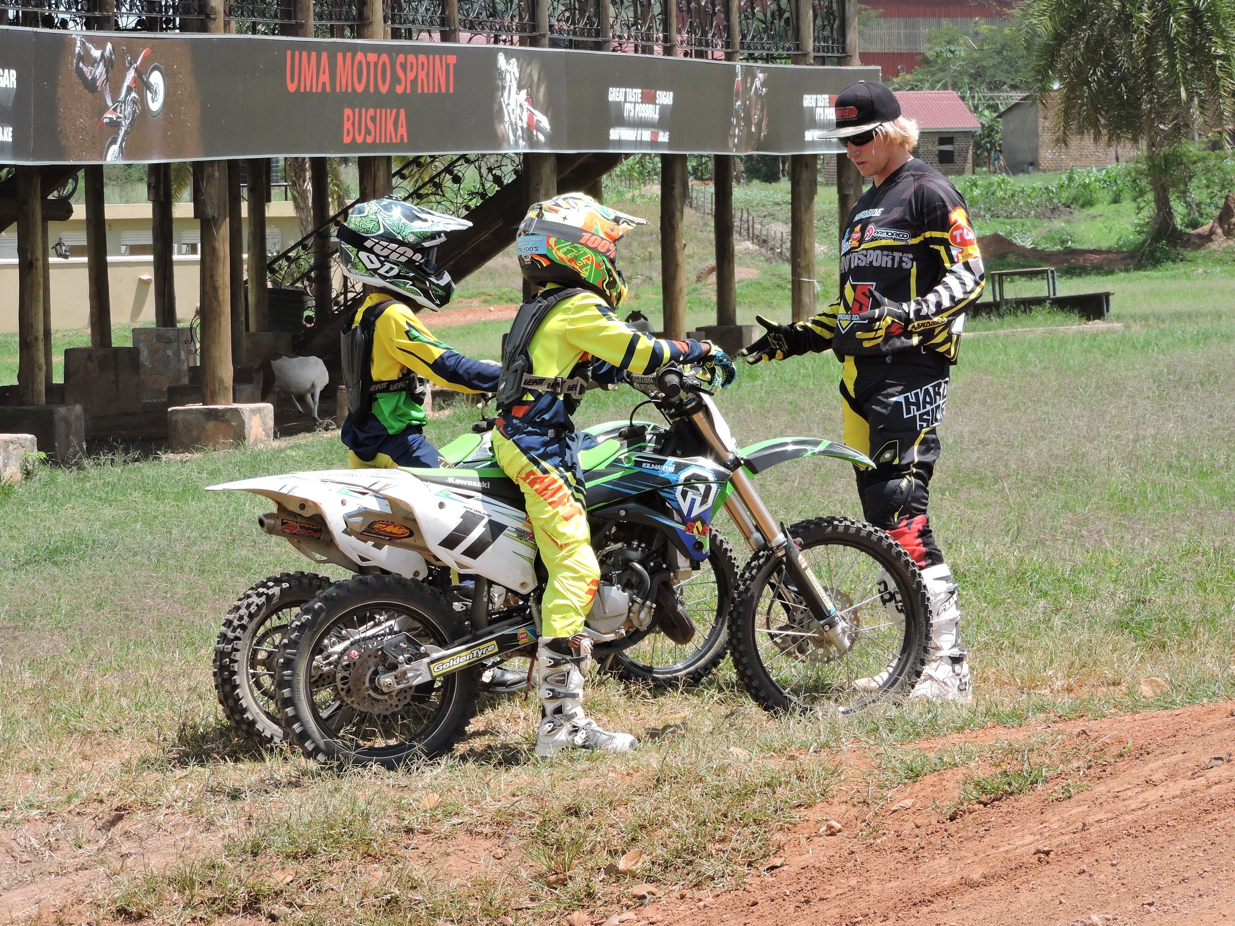 Kids Motocross training in California and abroad