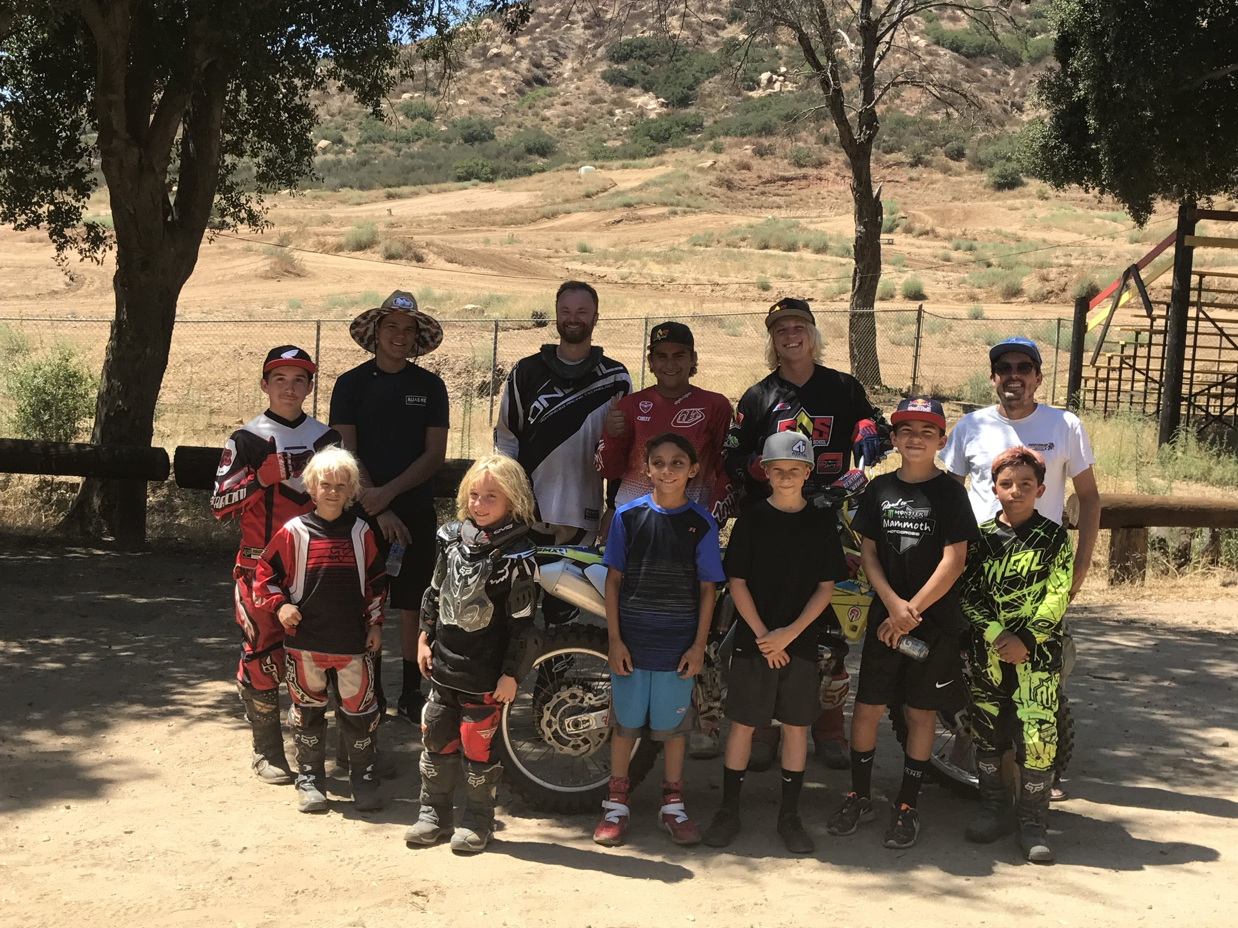 Motocross training camps at your home track