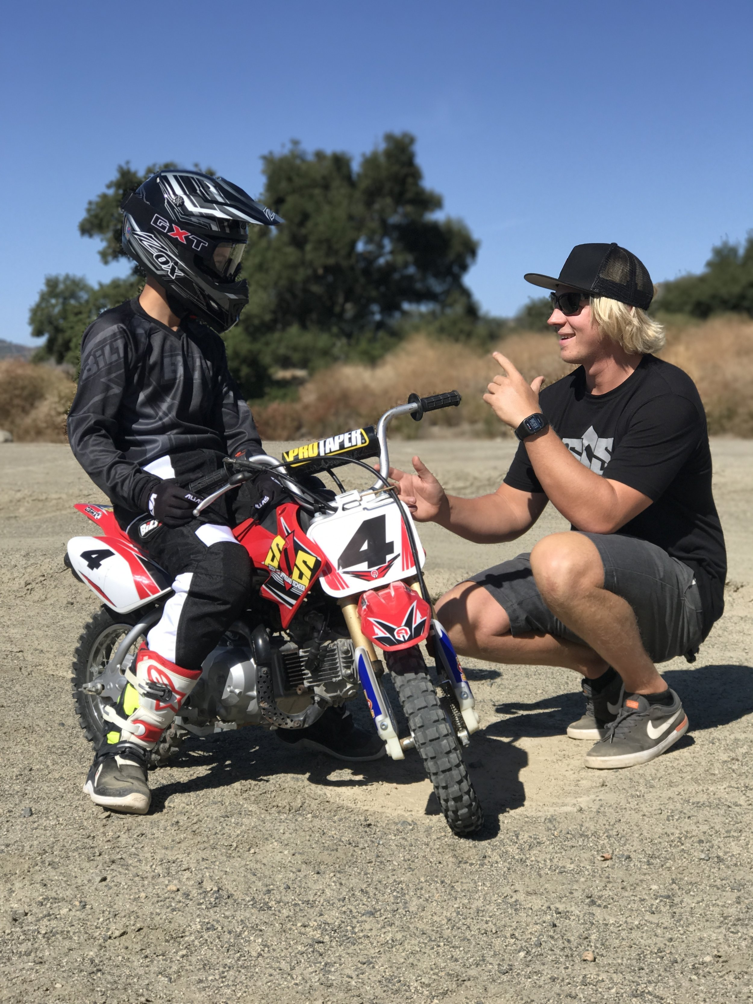 Professional instructors will assist you throughout your entire ride