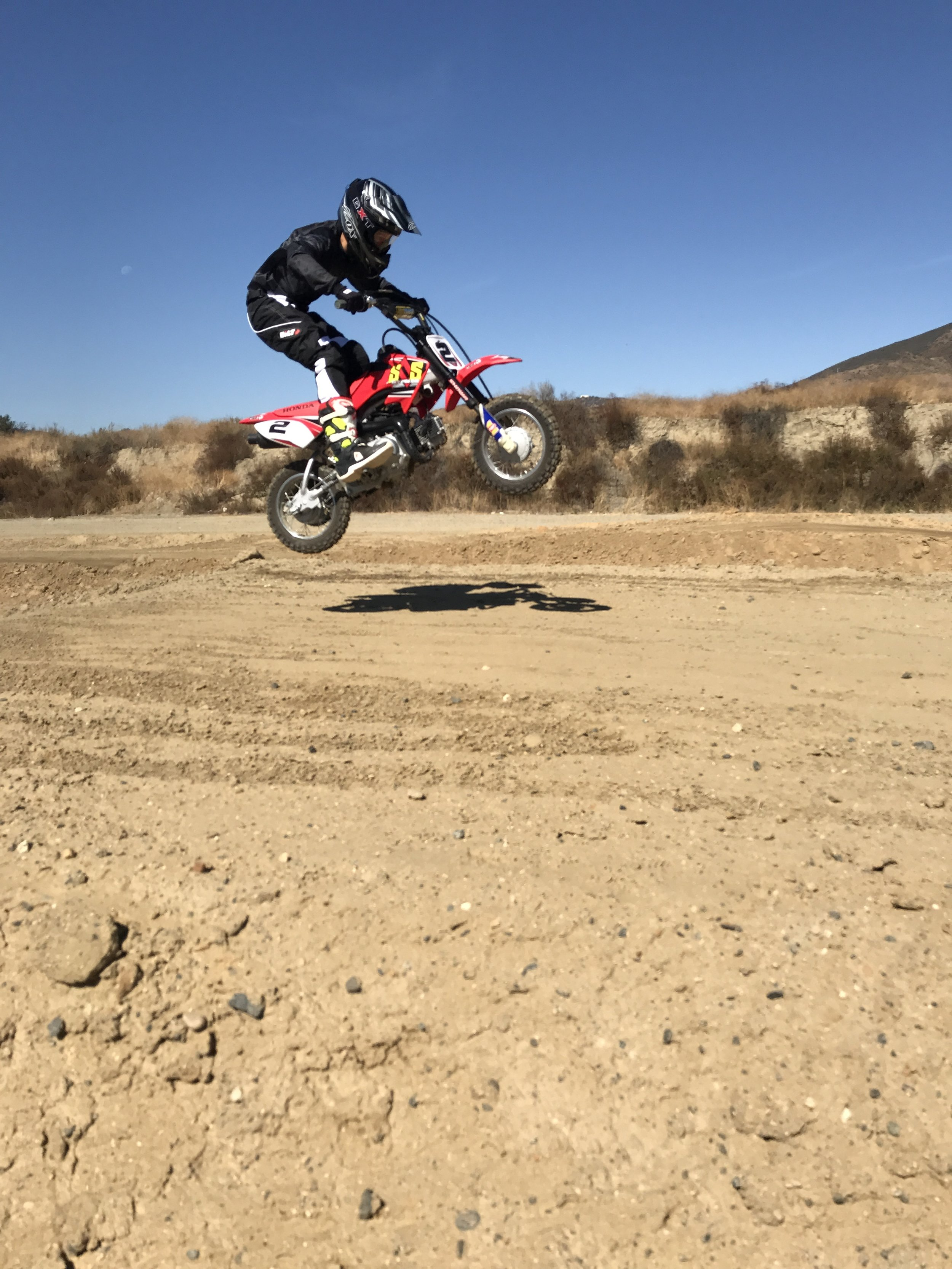 Beginner dirt bike lessons for kids and adults