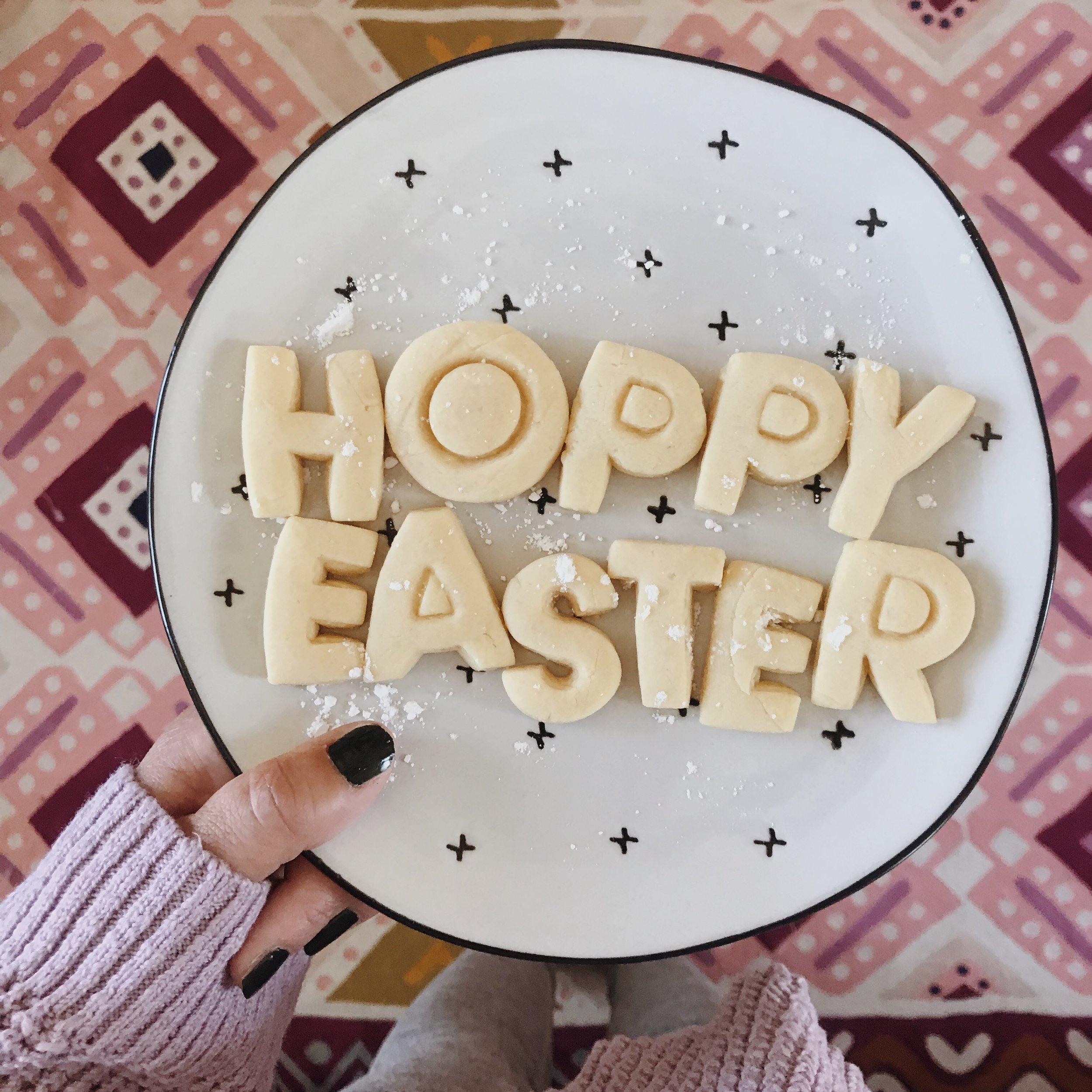 DIY Easter Cookies