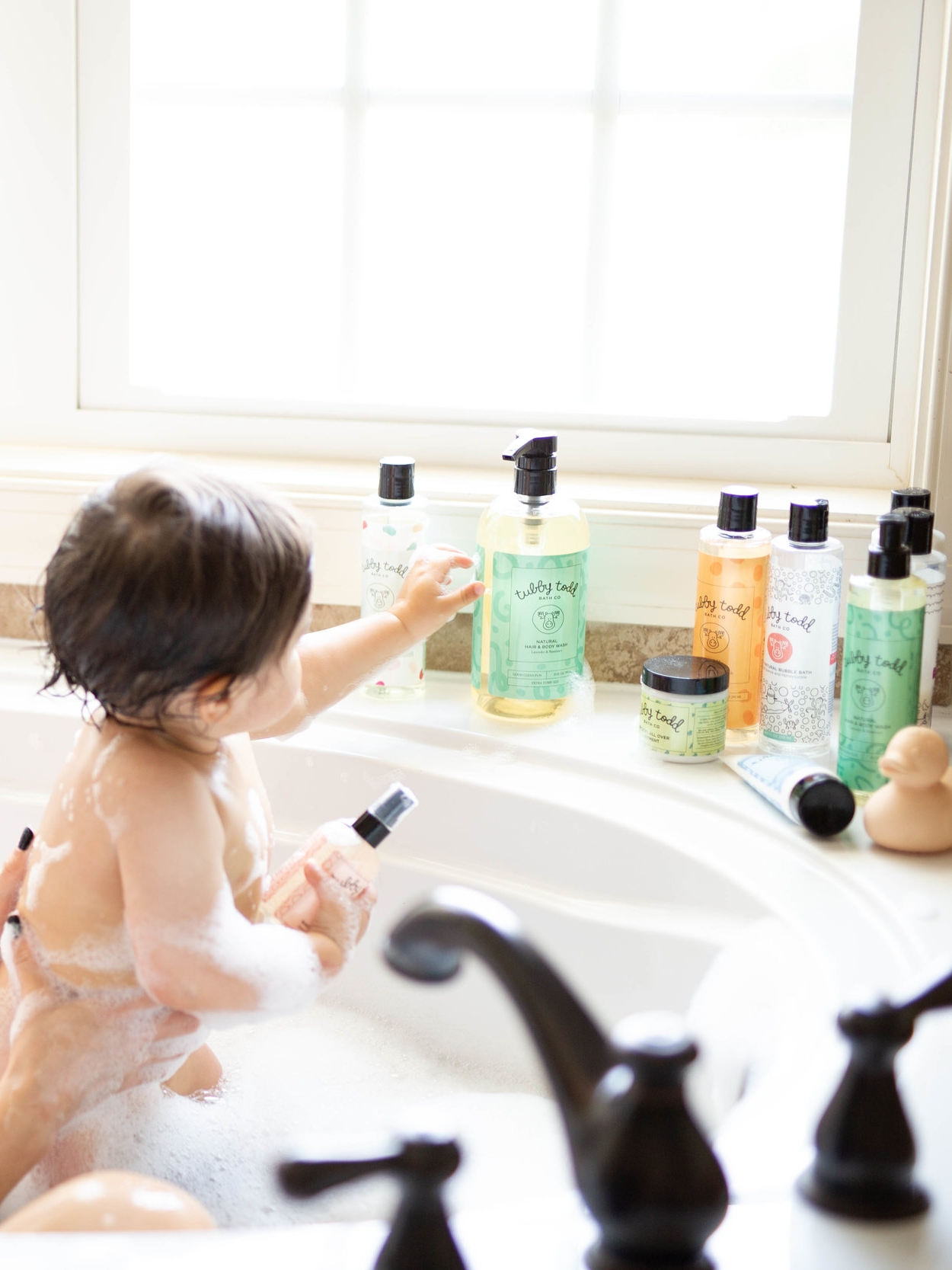 bubble bath tubby todd eczema