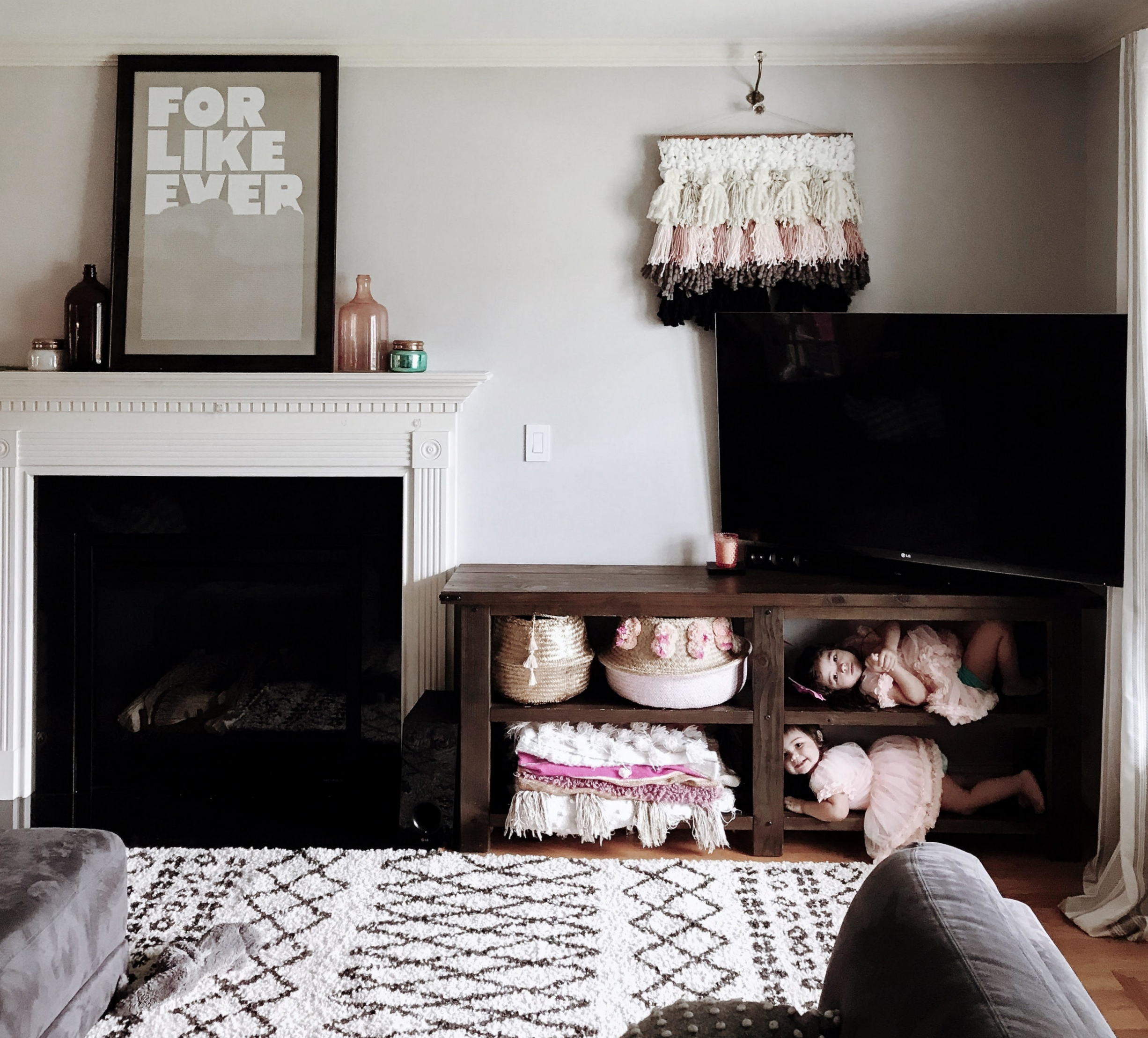 diy faux weaving wall art the ever co amy lou hawthorne craft anthropologie interior design anthro home