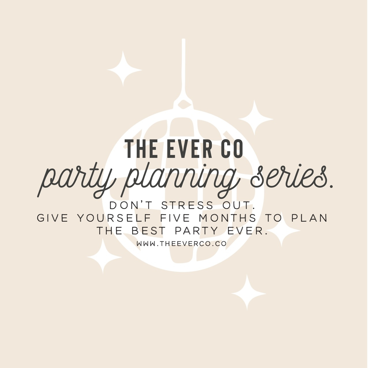 the ever co party planning event plan