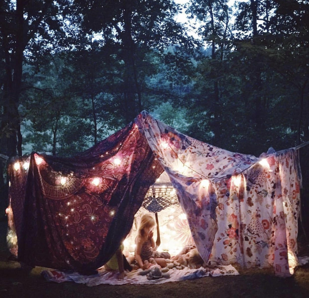 Camping and glamping adventures  via Sarah Schneider