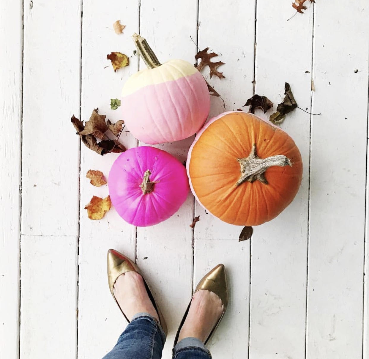 Sweetest pumpkin painting  via Amanda Rydell
