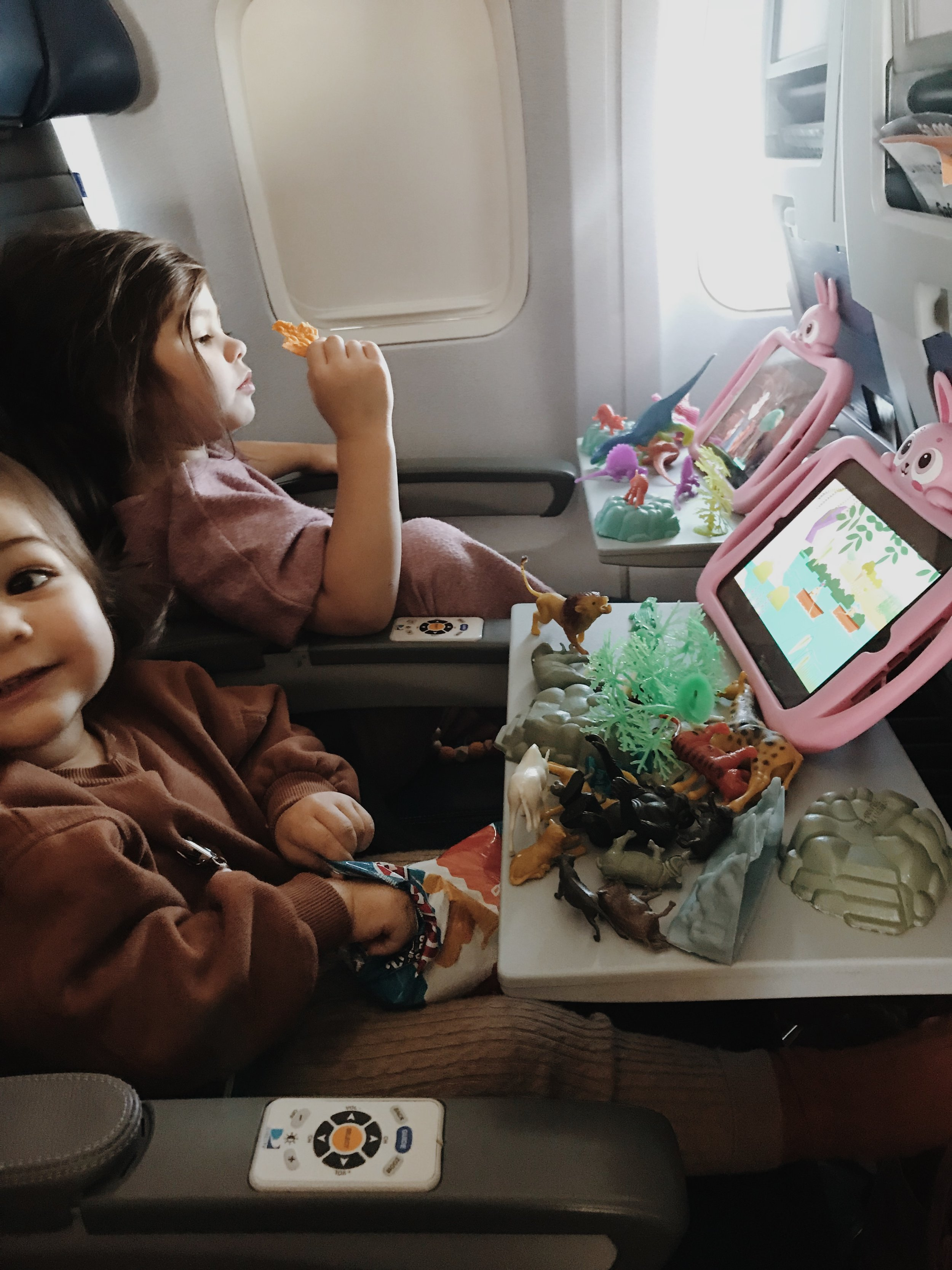 This is our girls using their tablet cases which they loveeeee.
