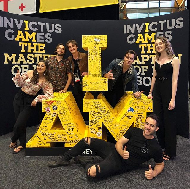 A big thank you to the Invictus Games Sydney 2018 for having us yesterday. We had heaps of fun playing for the competitors and their families before the closing ceremony. It was a really uplifting and inspiring day!