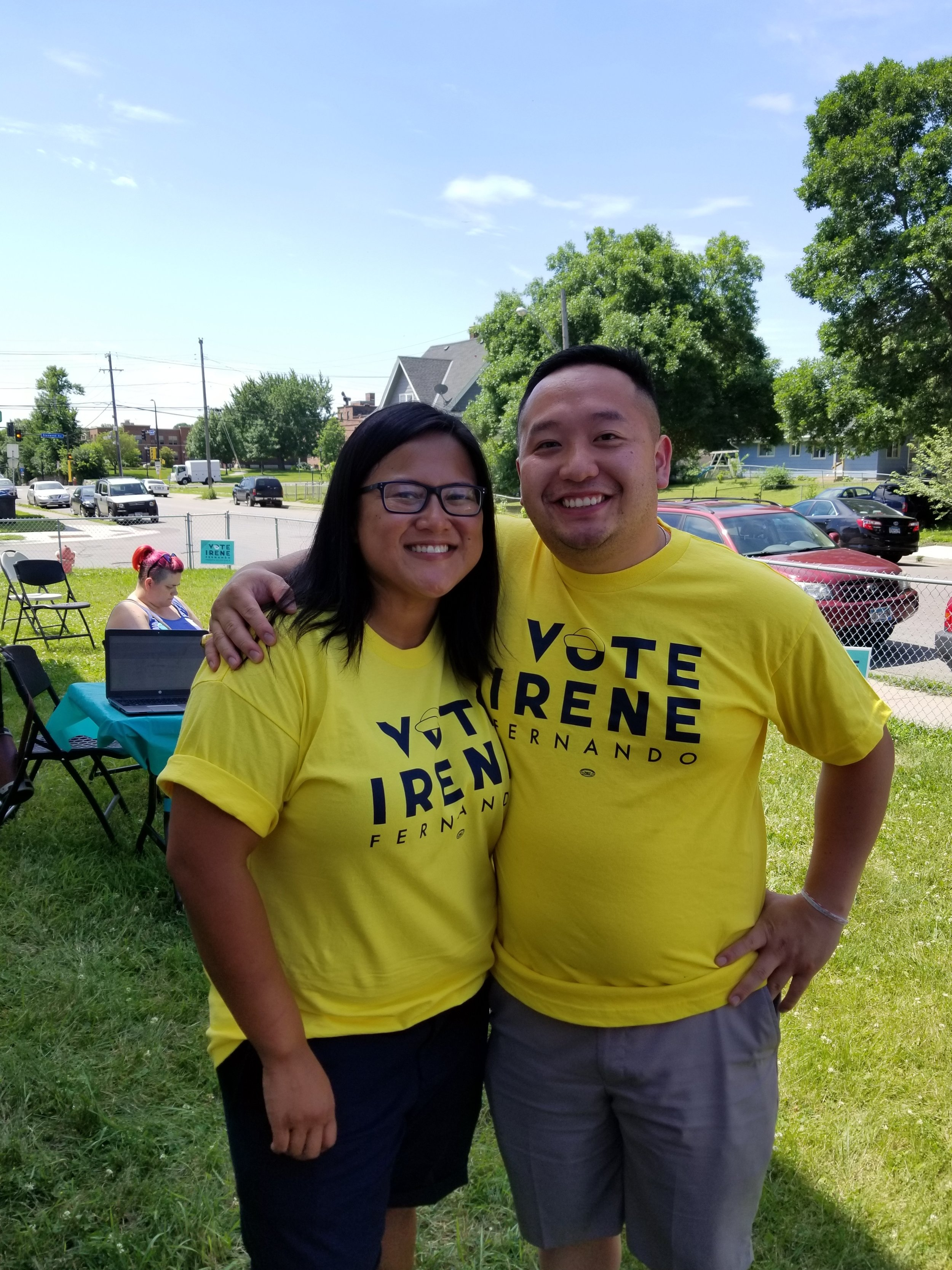 It is with great excitement that I endorse Irene Fernando for Hennepin County Commissioner in District 2. She will advocate for viewpoints that often go unheard on the County level, and I look forward to working with her to strengthen the Northside. Irene's insight and care will undoubtedly build a more inclusive and progressive Hennepin County.
