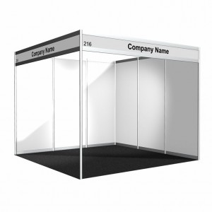 Octanorm Booths - Built to Suit