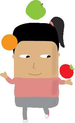 Eat Healthy Foods Healthy Heroes