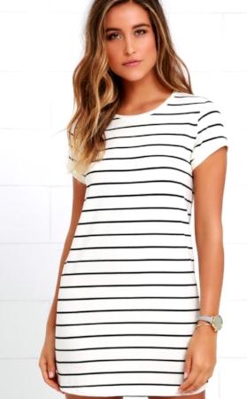 Lulu's T-Shirt Dress