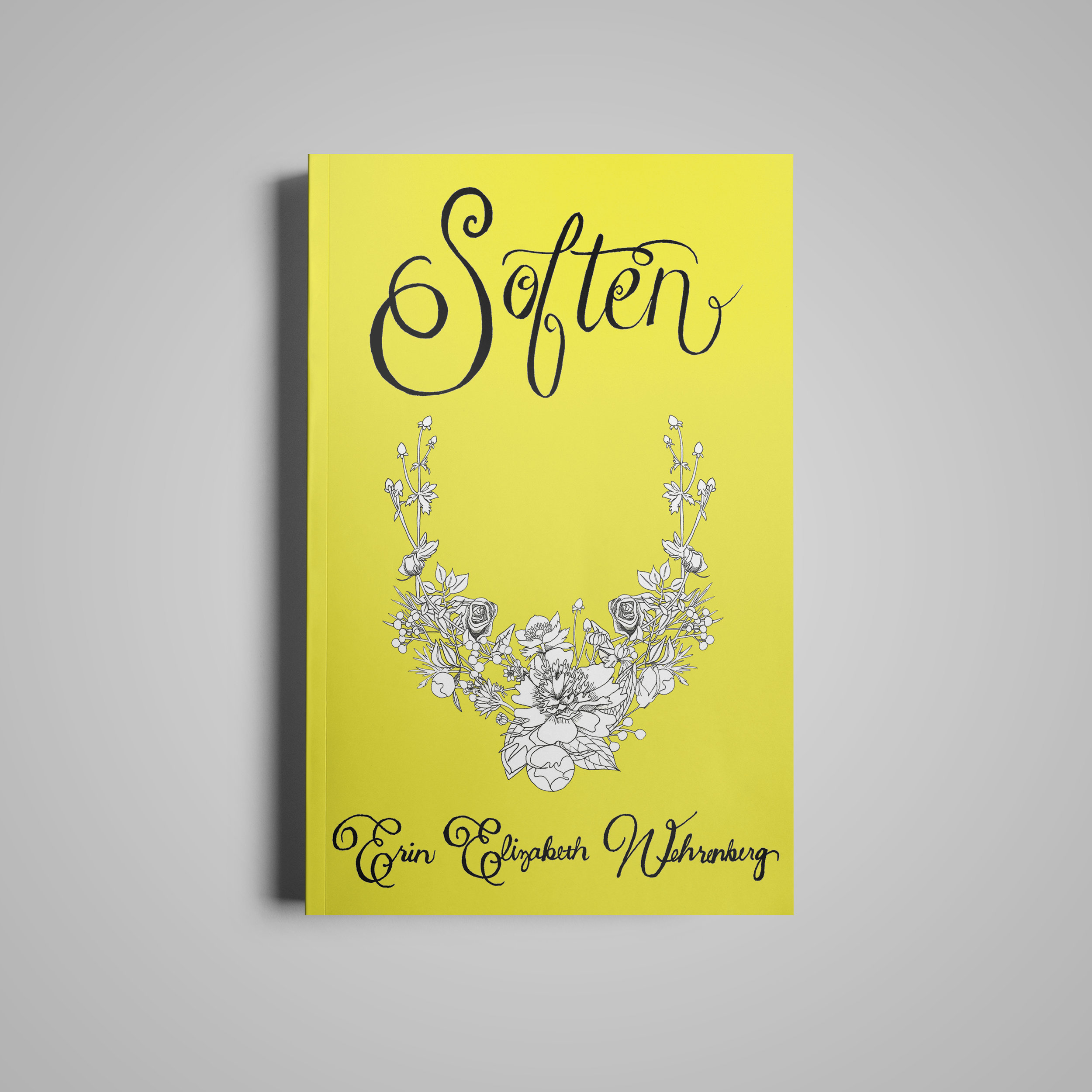 Soften.  Available in  Paperback  &  Kindle