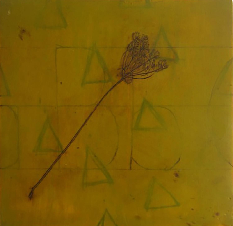 "Shadow Box Triangle  8""x8"""