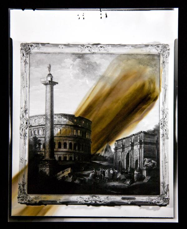 UMFA1951.012 [Gian Paolo Panini, Capriccio of Roman Ruins with F