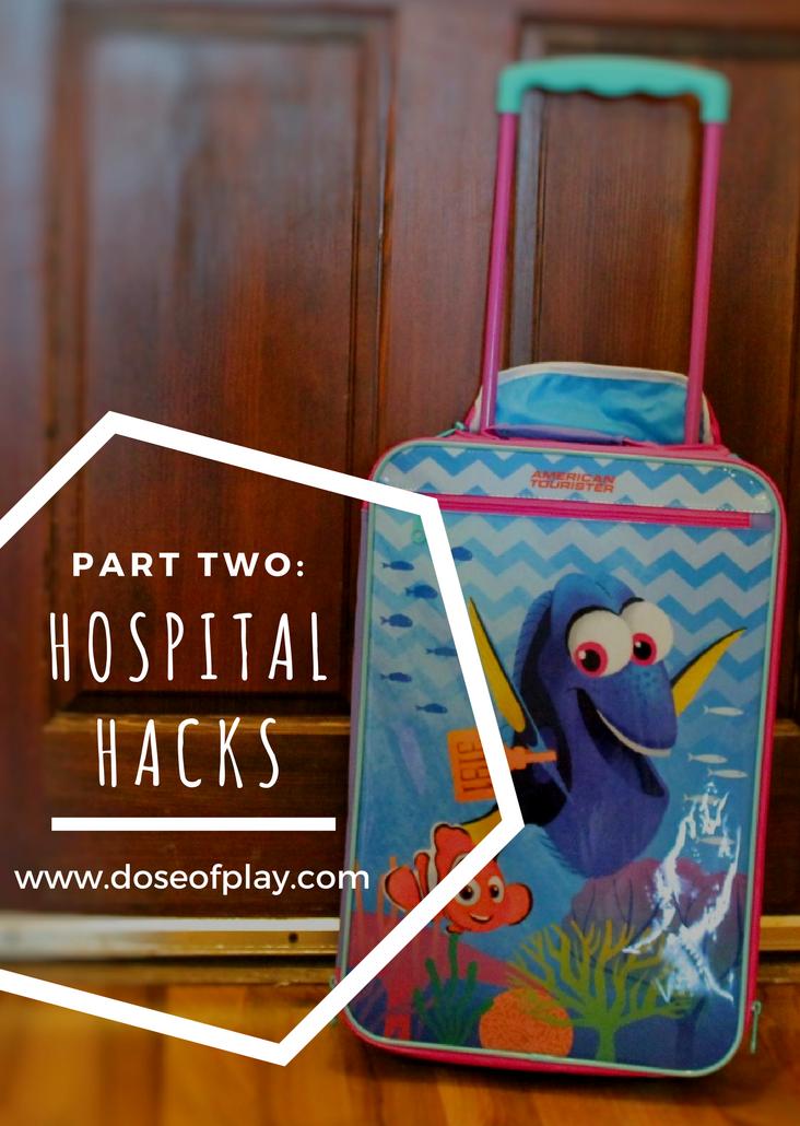 Hospital Hacks for parents and kids - part two! #doseofplay #hospitalpreparation #preparingforsurgery #hospitallife #hospitalhacks #lifehacks #momhacks #dadhacks #childlife #childlifespecialist #copingplan