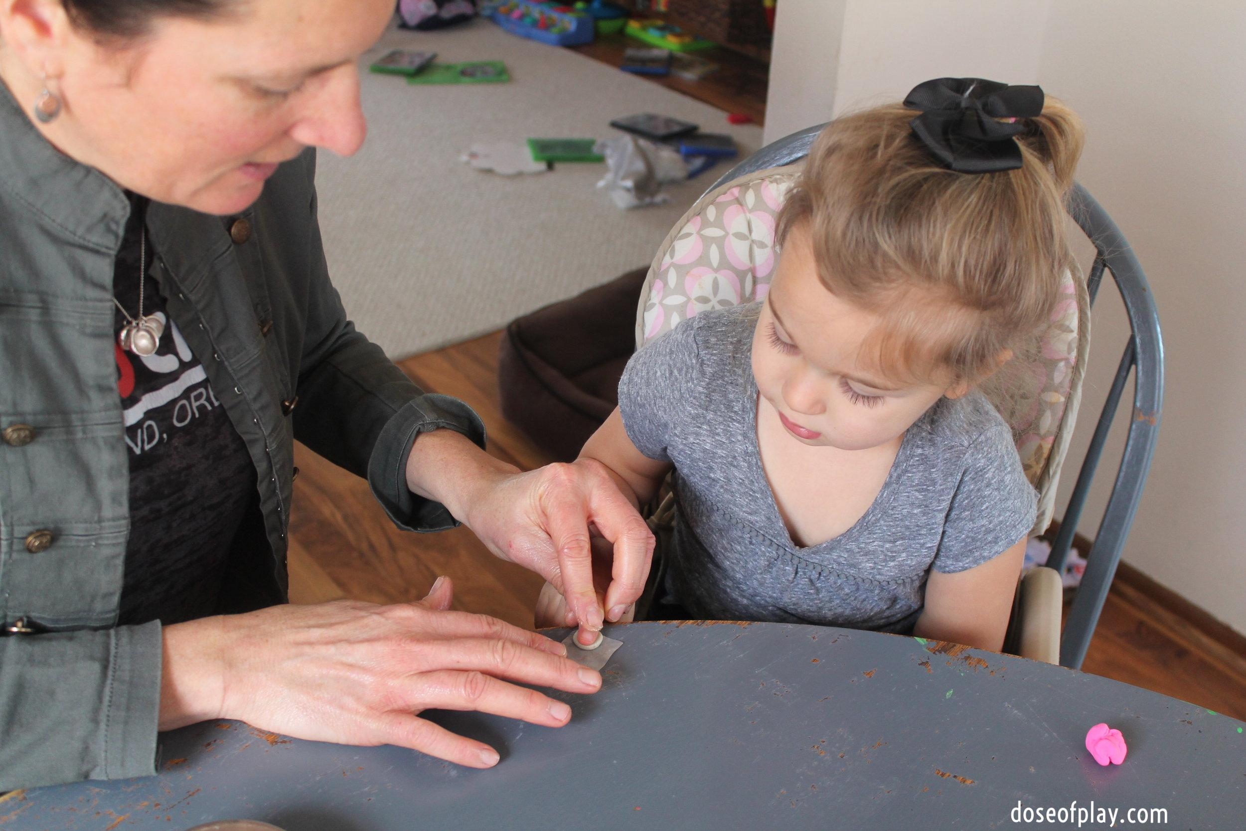 Making the fingerprint impression
